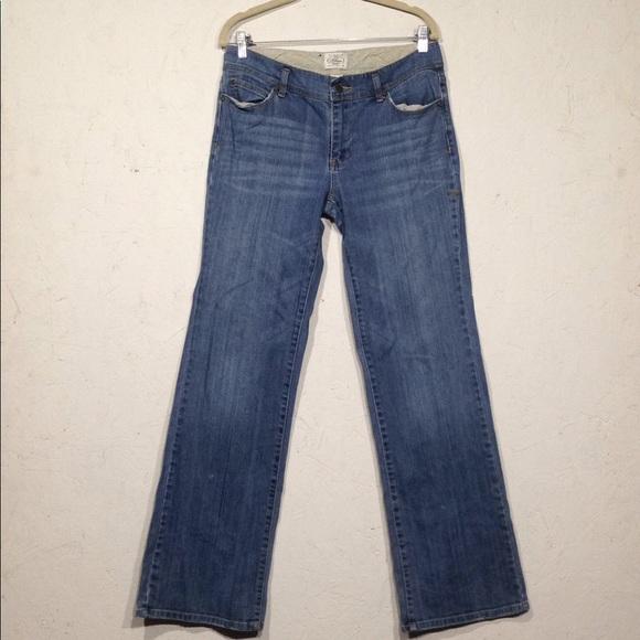 White House Black Market Denim - White House Black Market   Bootleg Jeans 8R EUC